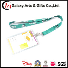 Screen Printing Lanyard with PVC Card Holder