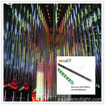 Wholesale LED efecto DMX 3D tubo Deco