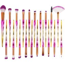 20 PCS Makeup Brushes Nylon Powder Concealer Eyeshadow