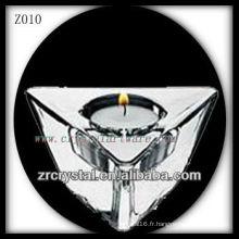 Bougeoir en cristal populaire Z010