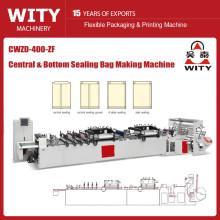 CWZD-400ZF Bolsa de sellado central de alta velocidad que hace la máquina