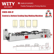 CWZD-400ZF High-Speed ​​Central Sealing Bag Making Machine