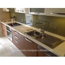 Economic, Cheap Price Modular Kitchen Cabinets, 2017 Modern Style