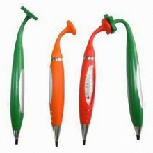 Promotional Plastic Ballpoint Pen W/Thermometer