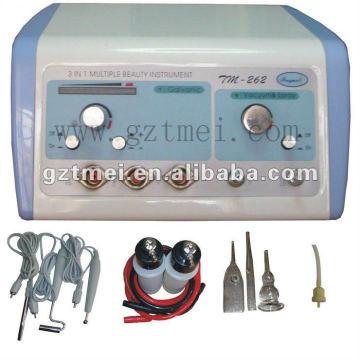 3 in 1 vacuum spray galvanic facial machine