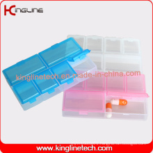 Nice Plastic 6-Cases Pill Box (KL-9112)