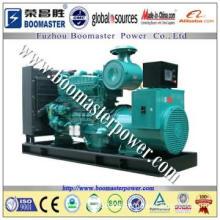 500kva Cummins Generator working in industrial plant