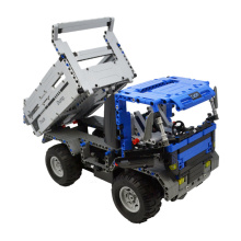 DIY DUMP TRUCK Diamond Blocks Micro Building Blocks Gift Toy