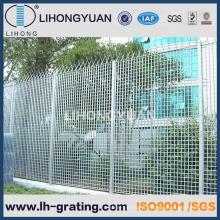 Grille de clôture en acier galvanisé pour la sécurité