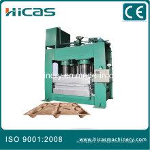 Machine de fabrication de palettes en bois pressées Hicas