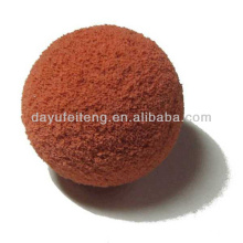 Concrete pumps cleaning sponge ball uesd for cleaning industrial pipe