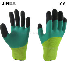 Латексные пены защитные рабочие защитные перчатки безопасности (NH303)