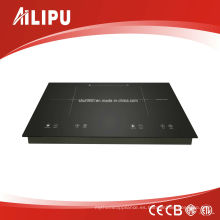 730 * 430mm Schott Glass and EGO Heating Element Dos zonas Built-in Induction Hob Modelo Sm-Dic13b