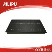 730 * 430 milímetros Schott Glass e EGO elemento de aquecimento de duas zonas Built-in indução Hob modelo Sm-Dic13b