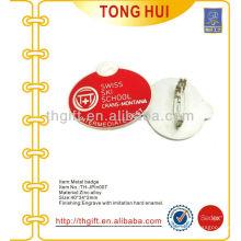 Металлический эмаль сувенирный лацкан штырь / значок для промежуточного теста