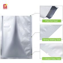 Пакеты для упаковки пищевых продуктов из фольги с подогревом