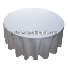 Excelente mesa-redonda 120 pano, pano de tabela do poliéster para hotel