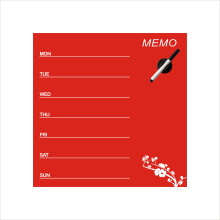 Magnetglas-Bulletin-Board verwendet im Haus oder Büro