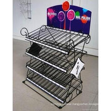 Store or Supermarket Wire Display Rack