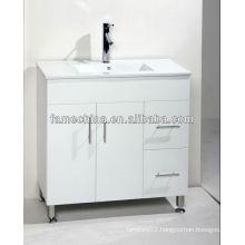 High Gloss steel wardrobe cabinet