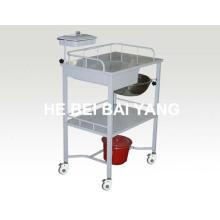 B-49 Hot Sales Trolley de tratamiento de plástico con gavetas