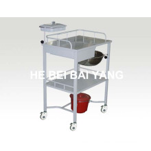 B-49 Hot Sales Plastic-Sprayed Treatment Trolley with Drawers