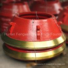 Pièces de concasseur à cône pour Metso, Sanbao, Symos