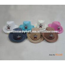 baby pink cowboy hat for children cheap