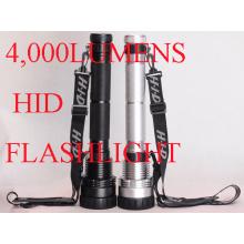 4, 000 Lumen HID Taschenlampe