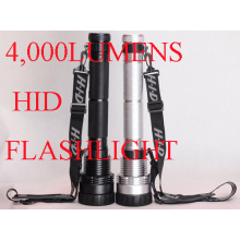 4, 000 Lumens HID Flashlight