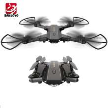 Optical Flow Positioning Quadcopter Foldable Drone With Wifi FPV 0.3MP HD Camera Height set drone SJY-L603