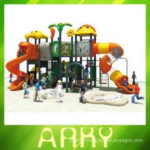 Jeu d'enfants extérieur mignon équipement de terrain de jeux pour animaux