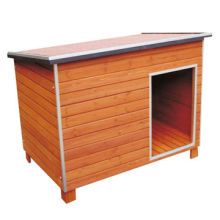 High-quality Sloping Roof Dog House, 113*75*89cm Size, Suitable for Immediate Outside Use