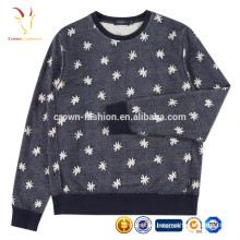 Latest fashion ladies Cashmere Pullover Sweater Printing Designs