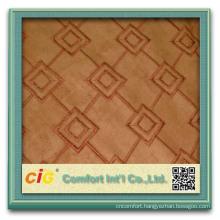 Fashion Popular Plain Embroider Exotic Design Fabric for Sofa