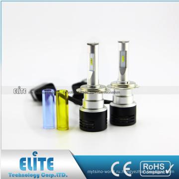 Лучший Продавец светодиодный головной свет лампы заменить HID преобразования наборы ксенона противотуманные фары H7 светодиодные фары