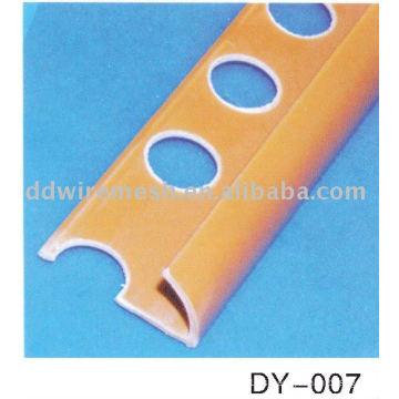 Tipo abierto PVC Tile Trim