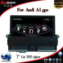Voiture pour Audi A1 2010-2015 avec navigation GPS 7 pouces / Dvt-T Video Bt