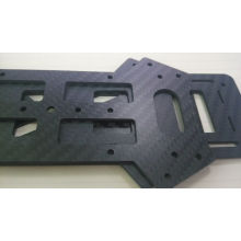 Anpassad Carbon Fiber Backplate 250x400mm
