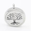 Der Baum des Lebens Magnet Side Open Oild Diffusor Medaillon für Armband Modeschmuck