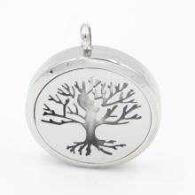 Первоначально Производство дерево Лифт масло диффузор медальон Кулон для ожерелье ювелирные изделия