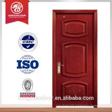Fancy wood door design customized modern design paint colors wood doors with fiberglass