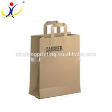 Bolsa única de lujo para llevar, bolsas de papel 26 + 13.5 x 32 + 4cm