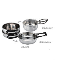 Stainless Steel Outdoor Pot Set (OP-1102)