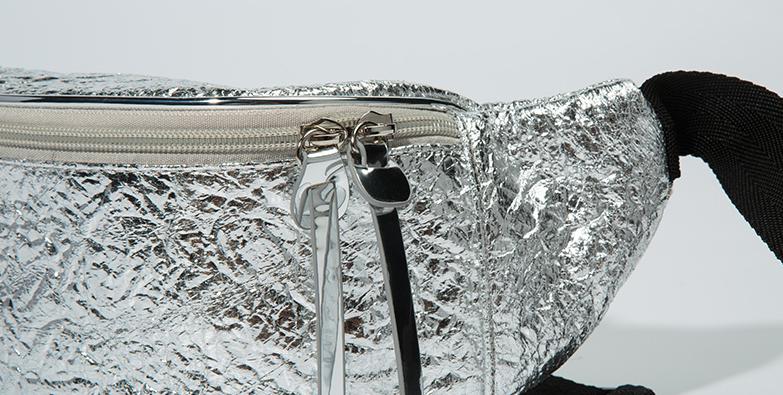 Blingbling Material Waist Bag