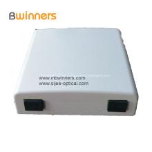 2 Anschlüsse Mini Fiber Optic Faceplate