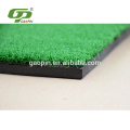 High Quality PP grass+ EVA Black rubber golf hitting mat can be customized