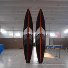 Panneaux gonflables en gros de planche à voile de SUP de planche de course gonflable