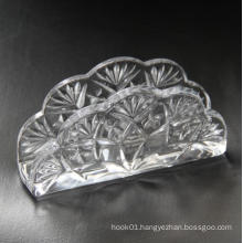 Dining Table Used Crystal Glass Napkin Holder