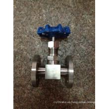 Válvula de aguja (J14W-2000PSI)